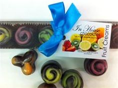 IN HOUSE CHOCOLATES FRUIT CREAMS - Dumfries & Galloway