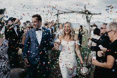 Wedding inspiration for Australian & New Zealand couples Wedding Blog, Our Wedding, Wedding Photos, Dream Wedding, Wedding Decor, Wedding Exits, Wedding Ceremony, Confetti Photos, Wedding Isles