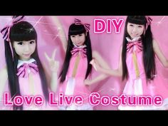 ▶ Cosplay DIY - DIY Summer Dress inspired by Love Live Start Dash - YouTube