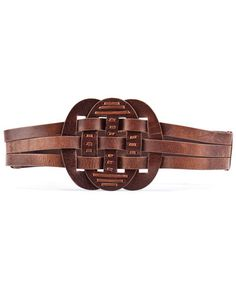 """French Connection """"Hanshaw"""" Leather Belt"""
