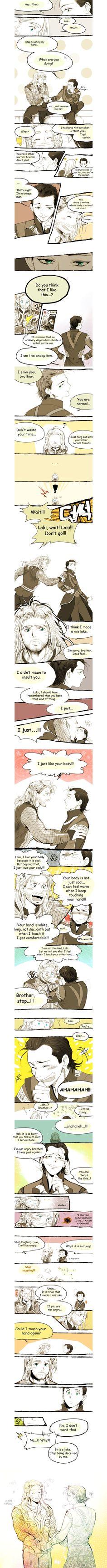 Thor and Loki - comic
