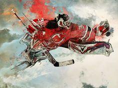 Sport Illustrations by StudioKxx Krzysztof Domaradzki, via Behance