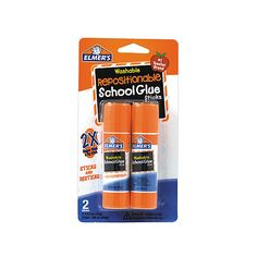 Elmers Repositionable Picture And Poster Glue Stick 0.52 Oz. Pack Of 2... ($4) ❤ liked on Polyvore featuring home and home decor