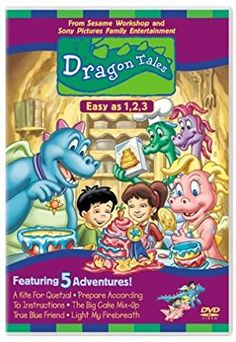Dragon Tales, Vol. Easy as 3 Dragon Tales, Tales Series, Childhood Movies, Big Cakes, Gummy Bears, Treat Bags, Female Characters, Movie Tv, Entertaining