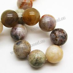 Gemstone Beads, Crazy Lace Agate, Smooth round, Approx 14mm, Hole: Approx 1.5mm, 28 pcs per strand, Sold by Strands
