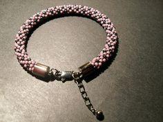 #toho #beads #pink #silver