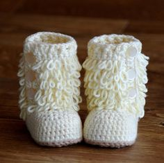 The Furrylicious Baby Boot booties making these tomorrow :)