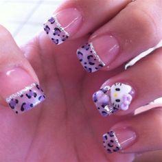 hello kitty nails designs | Hello Kitty Nail Art Designs ~ Violet Fashion Art