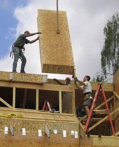 Slipform stone masonry stonework awesome pinterest for Diy structural insulated panels
