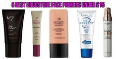5 Best Drugstore Face Primers Under £15