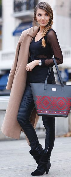 Back To The Roots Fall Street Style Inspo #Fashionistas
