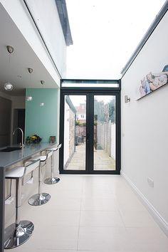IQ Glass kitchen extension