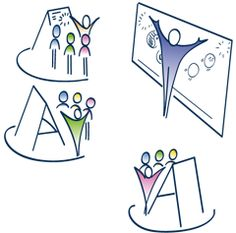 Trying to draw a facilitator or the act of facilitation? Here's an idea!