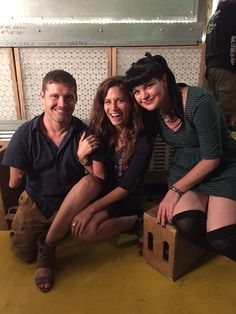 Pauley Perrette and friends