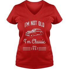 Not Old, Classic Car Funny T-Shirt 50th Birthday Gift 1967 #gift #ideas #Popular #Everything #Videos #Shop #Animals #pets #Architecture #Art #Cars #motorcycles #Celebrities #DIY #crafts #Design #Education #Entertainment #Food #drink #Gardening #Geek #Hair #beauty #Health #fitness #History #Holidays #events #Home decor #Humor #Illustrations #posters #Kids #parenting #Men #Outdoors #Photography #Products #Quotes #Science #nature #Sports #Tattoos #Technology #Travel #Weddings #Women