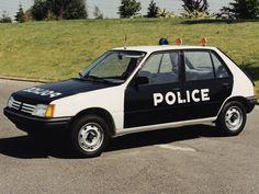 #Peugeot 205 5-door Police