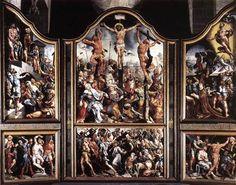 Triptych - Maerten van Heemskerck
