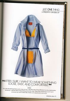 perfect beach wear (via matchbookmag from redstamp)