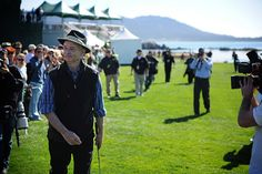 Bill Murray playing at the AT&T Pebble Beach Pro-Am