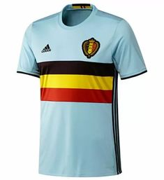 66f12ad0c 2016-2017 Belgium Away Adidas Football Shirt (Kids)