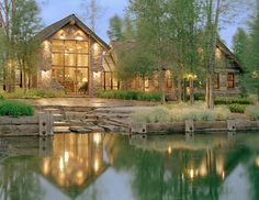 Snake River Residence - traditional - exterior - other metro - JLF & Associates, Inc.