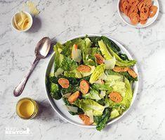 La vraie recette de la salade César : CUISINEZ-LA COMME SI VOUS ÉTIEZ CHEZ VOUS À MANHATTAN | PARIS NEW YORK TV
