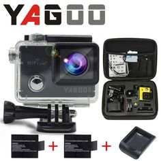 88.00$  Watch now - http://aliwn3.worldwells.pw/go.php?t=32781011402 - GoPro hero 4 YAGOO8 style camera action Wi Fi 4 K to waterproof camera  Mini camear Helmet Cam recorder Navy diving sport camera 88.00$