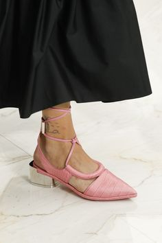 Salvatore Ferragamo Spring 2016 Ready-to-Wear Fashion Show - Julia Nobis