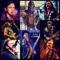 Lemmy Kilmister,the one and only
