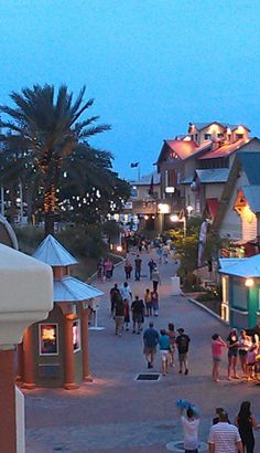 Harborwalk Village Destin, FL...a great place...eat, shop, music, fun!