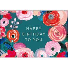 Woodmansterne Contemporary Blush Birthday card 411984