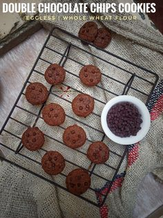 Best Vegetarian Recipes, Chef Recipes, Vegetarian Snacks, Easy Summer Meals, Summer Recipes, Double Chocolate Chip Cookies, Choco Chips, Best Dishes, Chocolate Coffee