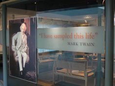 Take a photo tour of the Mark Twain House and Museum with us, learning about the beloved author's writing career, business acumen and writing habits.