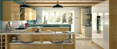 Wood on wood, Kitchen trend for 2015