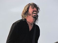 Dave Grohl of Nirvana and Foo Fighters