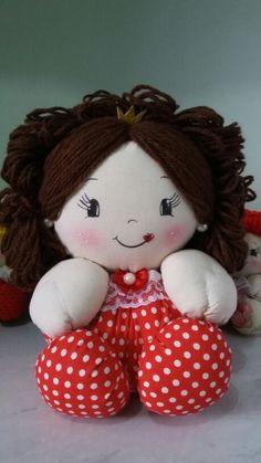 Boneca grande por Patrícia Souza
