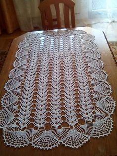 Crochet Pillow Patterns Free, Crochet Table Runner Pattern, Crochet Placemats, Crochet Baby Dress Pattern, Crochet Flower Patterns, Crochet Stitches Patterns, Crochet Patterns Amigurumi, Crochet Motif, Crochet Designs