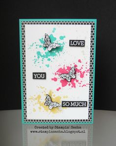 Stampin' Sacha - Stampin' Up! - Annual Catalog 2015/2016 - Pretty Petals DSP - Papillon Potpourri - Gorgeous Grunge - Crazy about You - #stampin_sacha - #stampinup