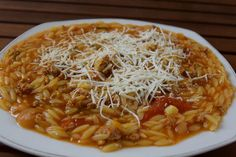 Cookbook Recipes, Cooking Recipes, Healthy Recipes, Food N, Food And Drink, Greek Dishes, Orzo, Fun Cooking, Greek Recipes