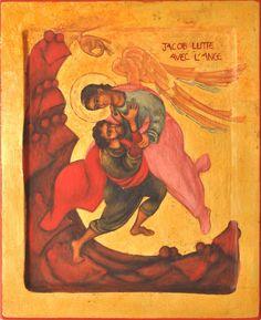 Jacob lucha con el ángel