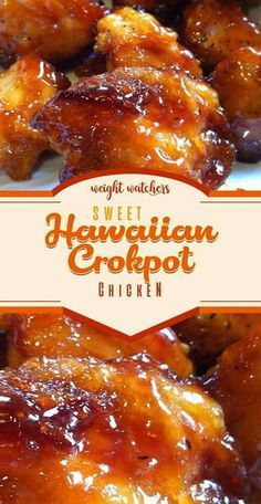 Sweet Hawaiian Crockpot Chicken Recipe - Sweet Hawaiian Crockpot Chicken Re . - Sweet Hawaiian Crockpot Chicken Recipe – Sweet Hawaiian Crockpot Chicken Recipe – Tasty Foods R - Crock Pot Recipes, Crockpot Dishes, Slow Cooker Recipes, Cooking Recipes, Crock Pots, Best Food Recipes, Meal Recipes, Crockpot Recipes For Kids, Recipies