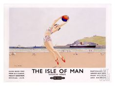 The Isle of Man Giclee Print by Charles Pears at Art.com