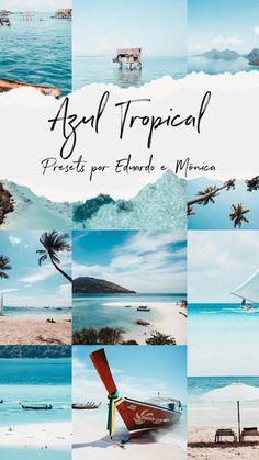 Presets Do Lightroom, Eduardo E Monica, Tropical, Vsco, Instagram, Layout, Look, Movie Posters, Art