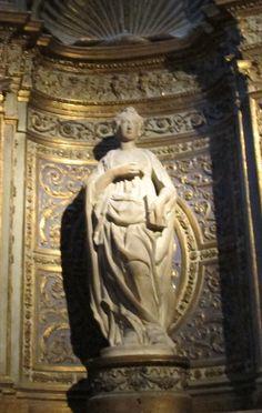 Cappella di s. giovanni, siena, 03 Santa Caterina d'Alessandria di Neroccio di Bartolomeo de' Landi (1487 ca.) 2