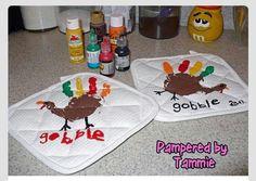 Kids crafts-oven mittens