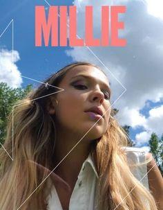 Millie Bobby Brown, Vogue, Zoe Hardman, Nadia Turner, Brown Converse, Enola Holmes, Online Photo Gallery, Stranger Things Netflix, Brown Aesthetic