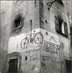 / Vintage Bicycle adverts, Italy, 1950s