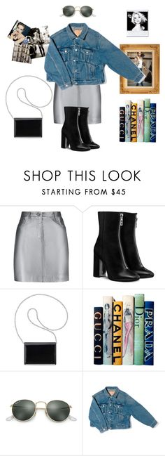 """""""RETRO VINTAGE"""" by oliviaeri ❤ liked on Polyvore featuring Pierre Balmain, Nine West, Motif Designs, Ray-Ban, Balenciaga and vintage"""