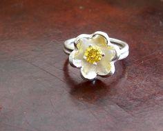 PMC Flower Ring