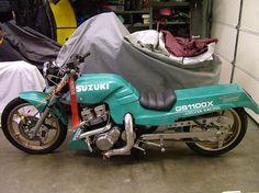 Image result for Old School GS 1100 Drag Bike Old School Motorcycles, Custom Motorcycles, Street Fighter Motorcycle, Custom Sport Bikes, Drag Bike, Moto Bike, Go Kart, Drag Racing, Planes
